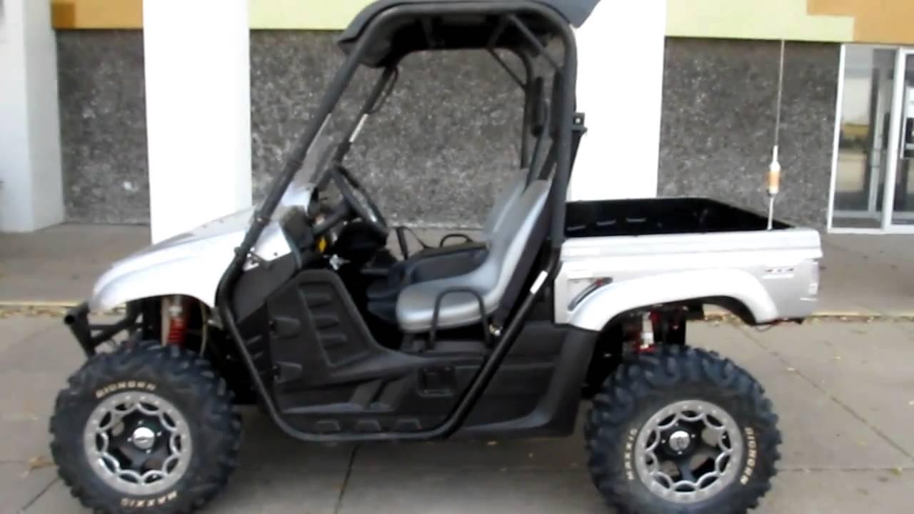 yamaha rhino efi 700 beadlock wheels lots of extras for sale youtube. Black Bedroom Furniture Sets. Home Design Ideas