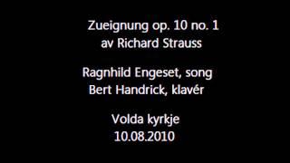 R. Strauss: Zueignung op.10 no.1