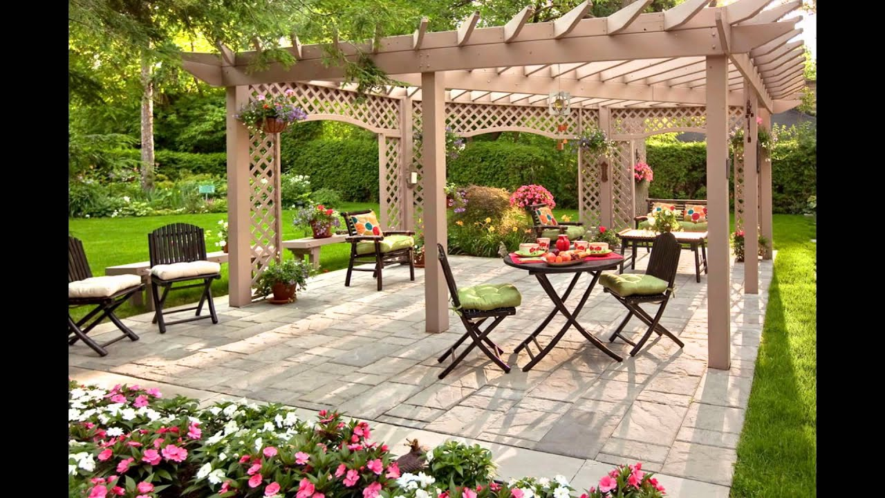 Backyard Decor - YouTube on Backyard Decorating Ideas  id=43853