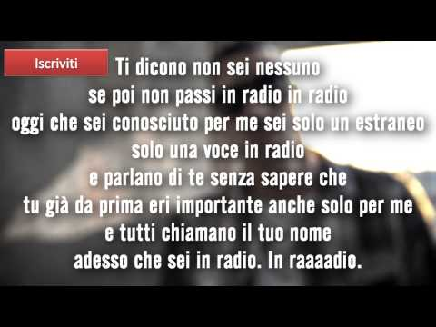 Marracash - In Radio [Lyrics - Testo]