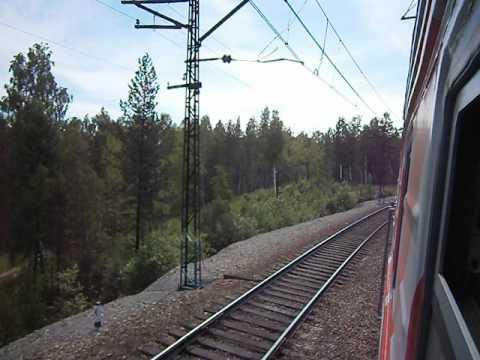 Поезд № 257 Томск - Анапа