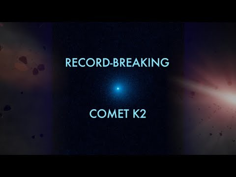 Hubble Sees First-Time Icy Visitor Comet K2