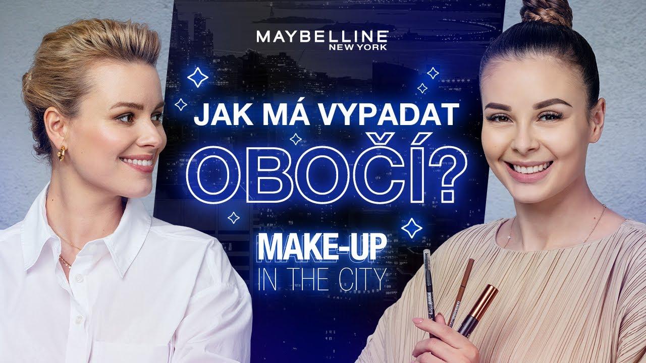 Máme všechno, co potřebuješ na obočí - Make-up in the City S09 E04
