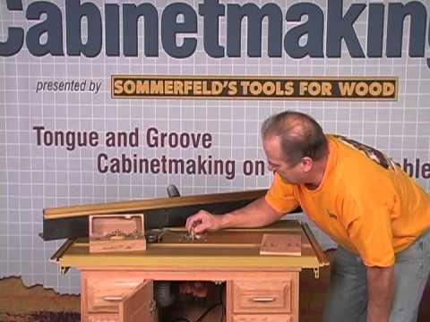 Sommerfeld S Tools For Wood Mini Raised Panels Made Easy