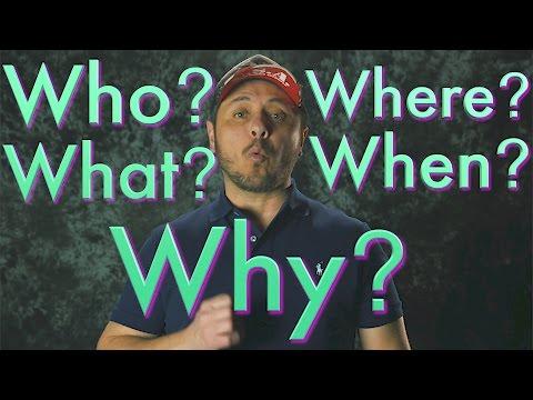 WHO WHAT WHEN WHERE WHY? Aprende a hacer preguntas en Inglés