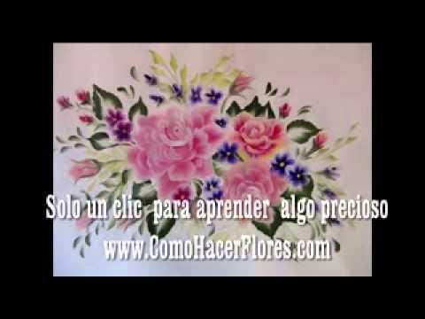Plantillas para pintar flores ya no las necesitas con - Plantillas para la pared ...