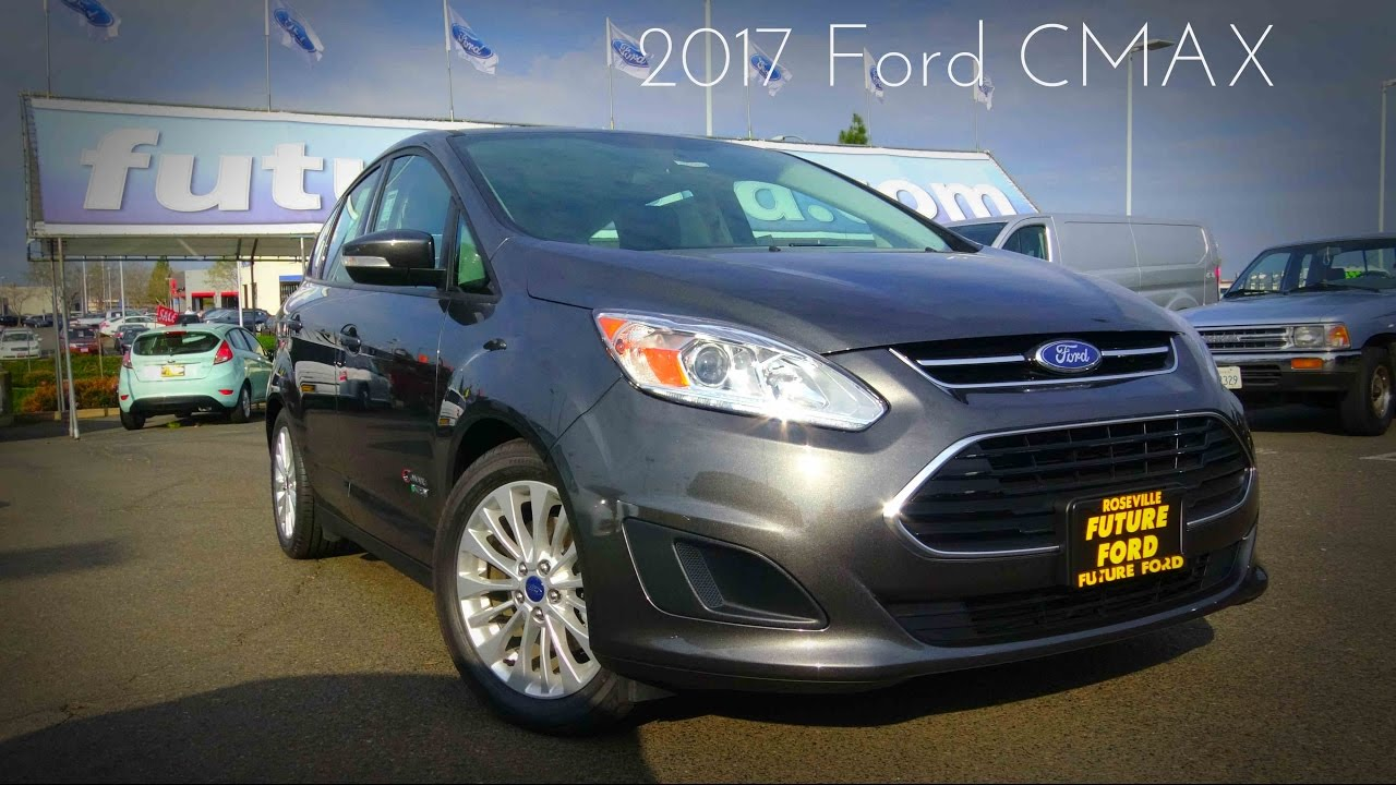2017 Ford Cmax Se Energi 2 0 L 4 Cylinder Review
