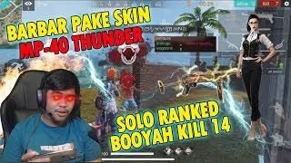 BAR BAR DI SOLO RANKED PAKE SKIN TERBARU MP-40 AUTO BOOYAH KILL BANYAK!!