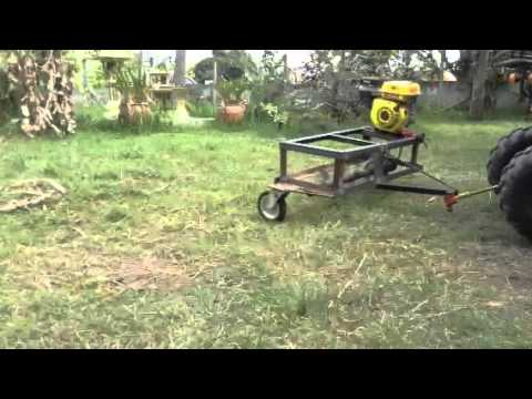 Testing The Homemade Mower Doovi