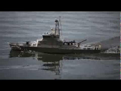 1/38 scale RC Island Class US Coast Guard Cutter