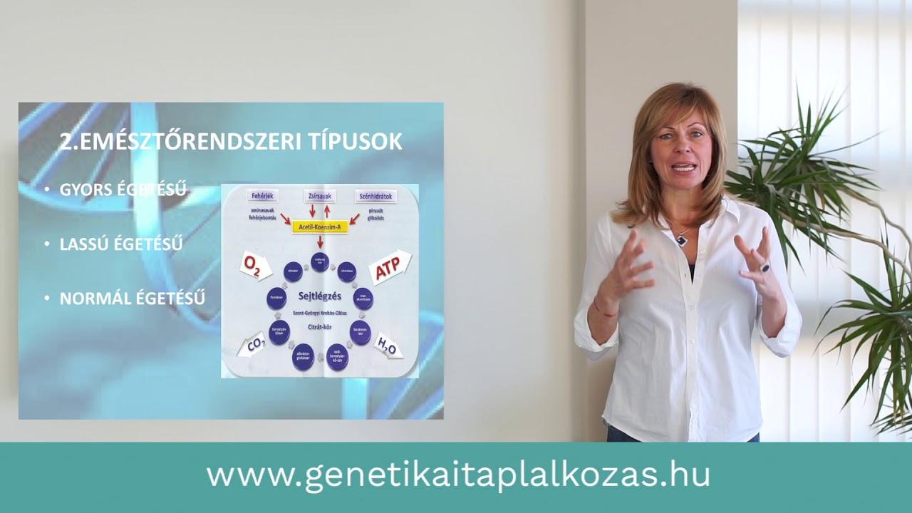 Genetikai anyagcsere típus mérésről röviden és tömören