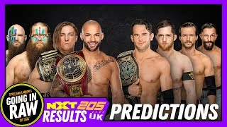 WWE Takeover War Games 2018 Predictions! NXT, NXT UK & 205 Live Full Results & Review | Going In Raw