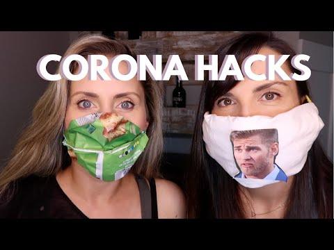 Diy Masks Kid Husband Hacks In The Time Of Corona Youtube