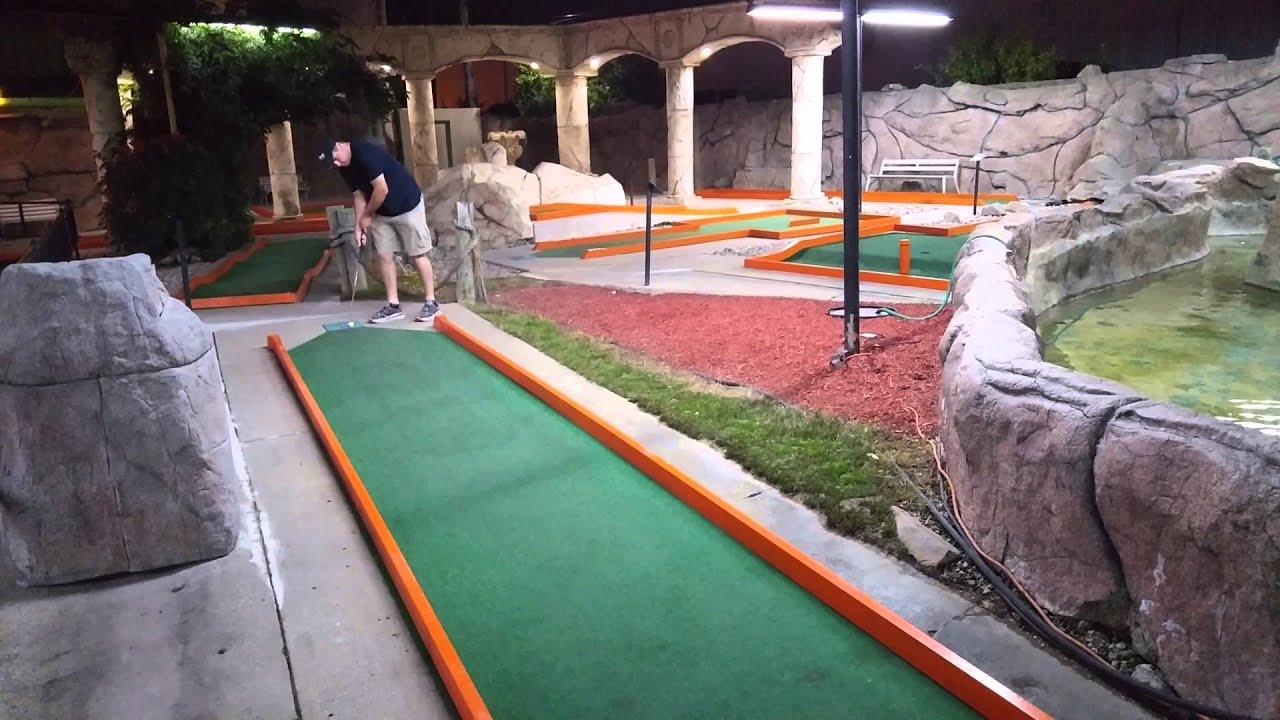 fort wayne putt putt 2015 course championship youtube