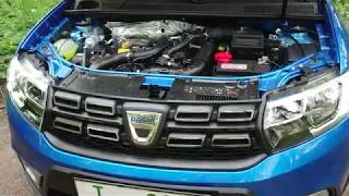 2018 Dacia Sandero 0,9TCe, idling, engine sound