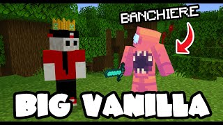 IL BIG RE MI HA PROMOSSO A BANCHIERE NELLA BIG VANILLA - MINECRAFT ITA EP #9
