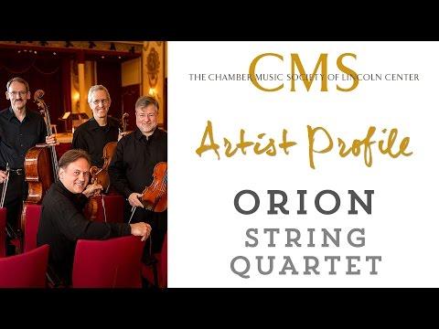 Orion String Quartet Artist Profile - April 2015