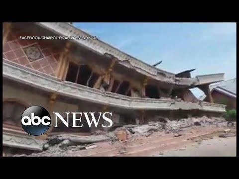 Powerful Quake Rocks Indonesia, Killing Dozens and Flattening Buildings