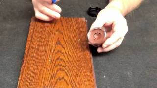 Installer Putty Repair Wood Grain By Finish Repair 2012.mp4