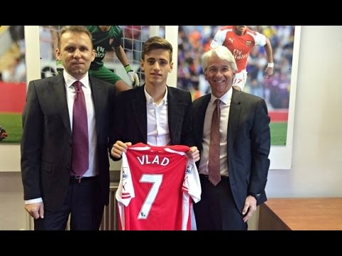 Arsenal sign Romania Under-16 captain Vlad Dragomir for £71,000