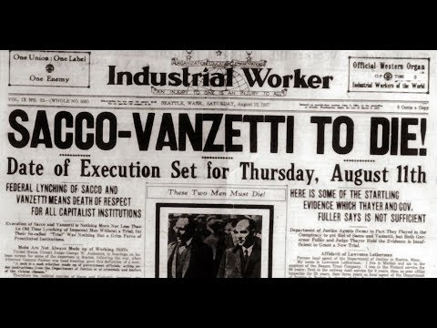 In Search Of History - The True Story of Sacco and Vanzetti (History Channel Documentary)