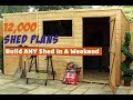 My Shed Plans - Build ANY Shed In A Weekend or Less!