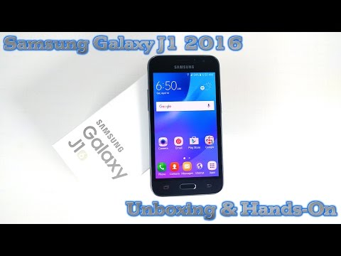Samsung Galaxy J1 DUOS 2016 Unboxing & Hands-On