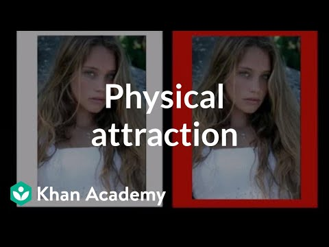 Physical attraction | Individuals and Society | MCAT | Khan Academy