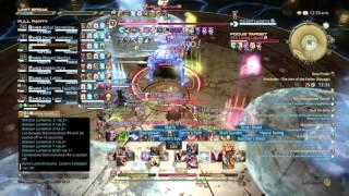 Final Fantasy 14- Alexander Savage 3 - Living Liquid- War PoV