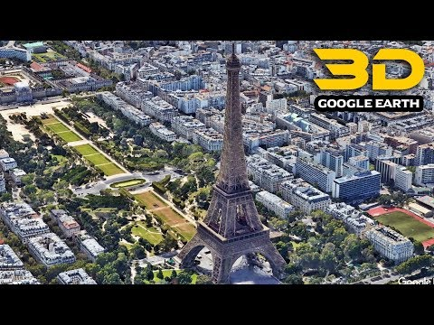 Eiffel Tower Facts And 3D Animation Via Google Earth