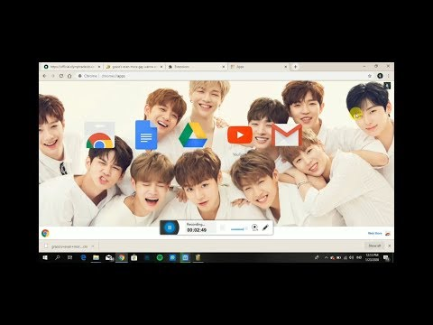 How To Change Google Chrome Themes To Kpop Themes Youtube