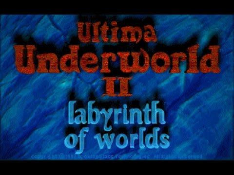 Ultima Underworld II: Labyrinth of Worlds (PC/DOS) 1993, Origin systems