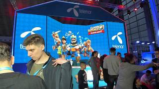 Clash Royale - Belgrade LIVE - Telenor Arena FINALS