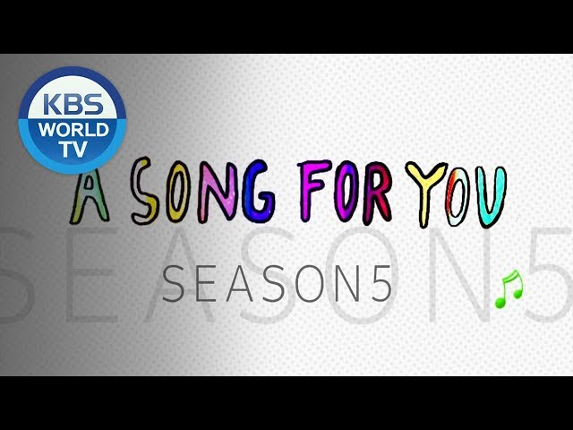 A Song For You 5 | 어송포유 5 [Preview]