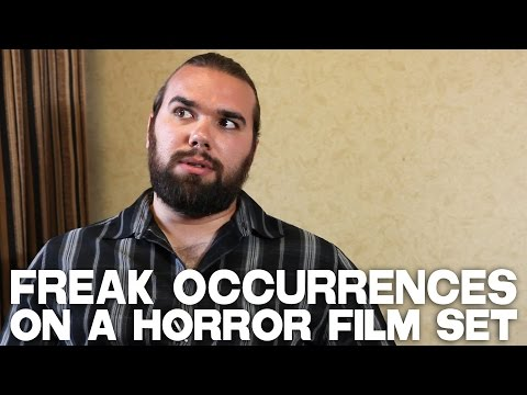 Freak Occurrences On A Horror Film Set by A.J. RickertEpstein