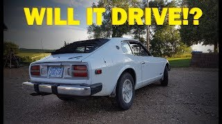 Forgotten 260z First Start in 16 Years!! Datsun Revival -- Part 2