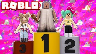 PAPILE TURNED TO GRANNY IN FASHION FAMOUS (UNBELIEVABLE)-ROBLOX