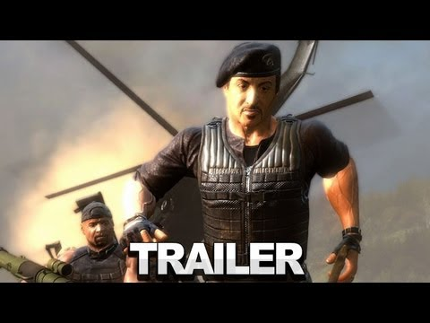 The Expendables 2: Videogame Gameplay Trailer