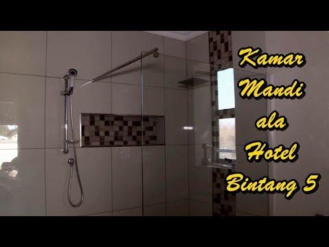 Model Kamar Mandi dengan Shower Screen Kaca