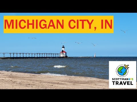 Exploring Michigan City, Indiana | Historic Downtown And Lighthouse