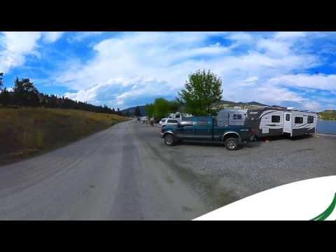 Black Sandy State Park Campground Helena Montana MT 360 Video Virtual Reality