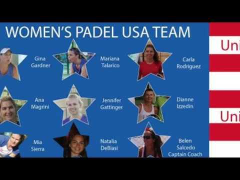 Padel Women's USA Team United we stand!
