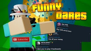 Tower Of Hell Funny DARES! (Roblox)