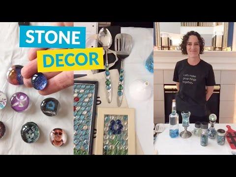 Dollar Store Stone Decor Ideas!