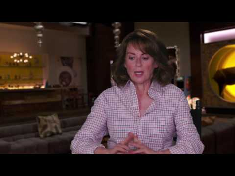 "Why Him?: Megan Mullally ""Barb Fleming"" Behind the Scenes Movie Interview"