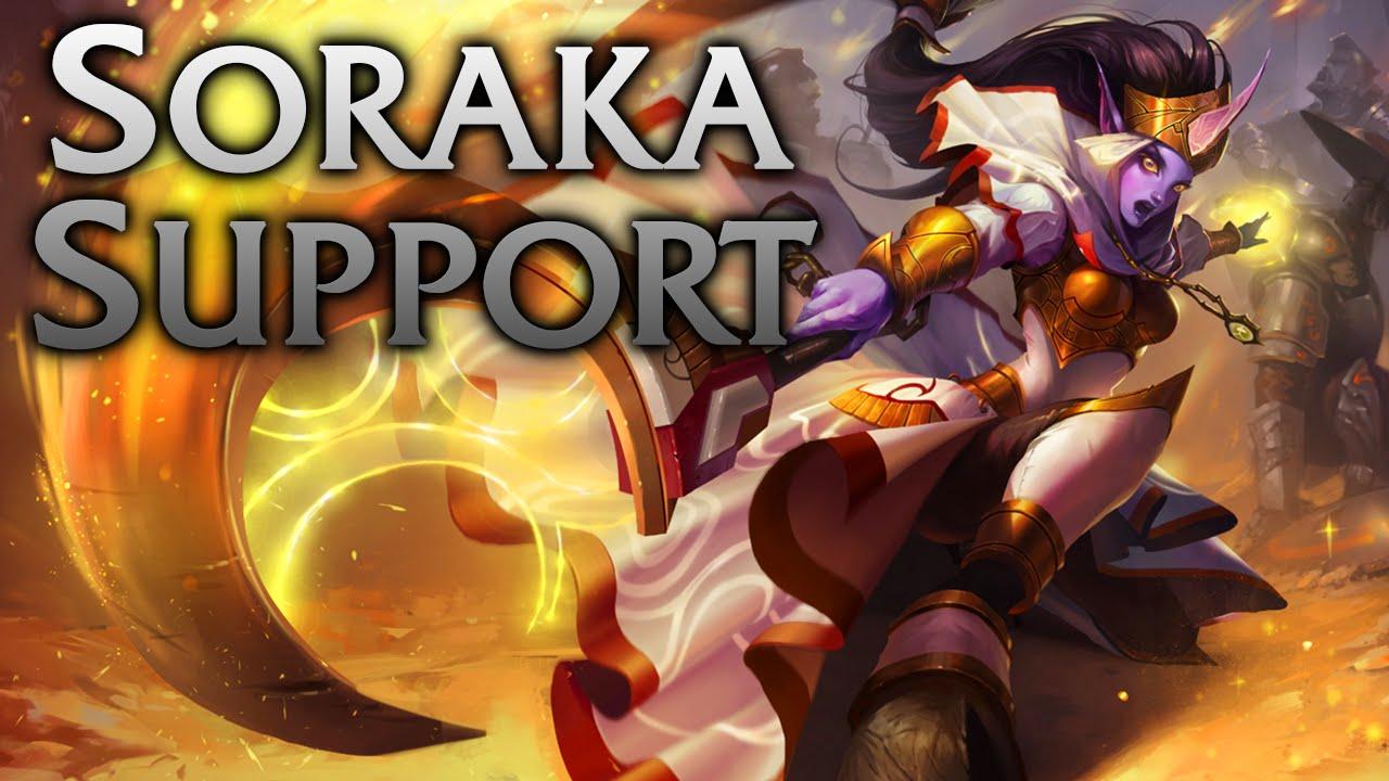 League of Legends | Celestine Soraka Support - Full Game ...