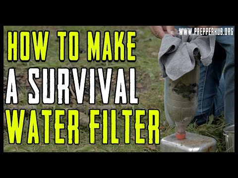 How To Make a Survival Water Filter
