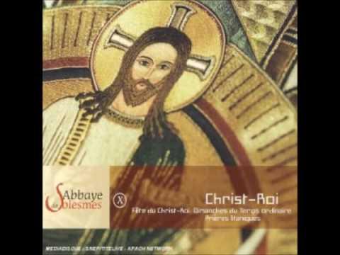 Abbaye de Solesmes X - Christ Roi CD1| Canto Gregoriano Católico