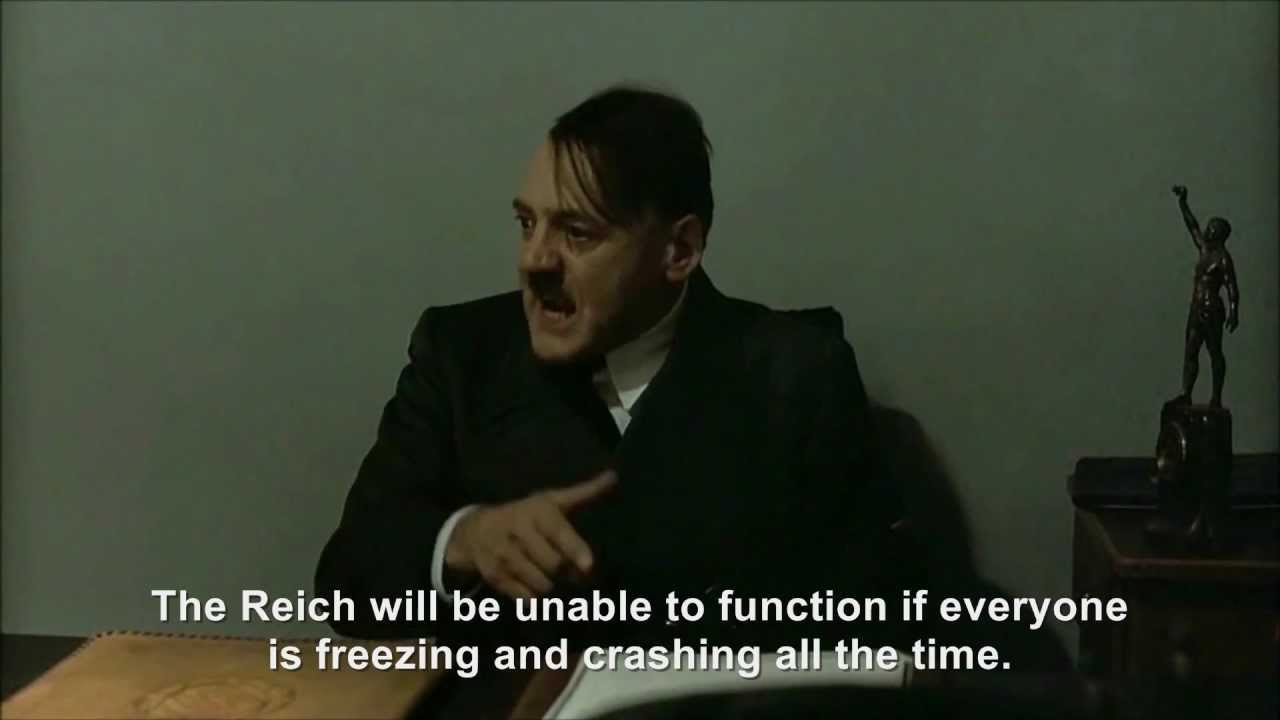 Hitler's firmware update disaster III