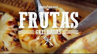 Frutas Grelhadas na Churrasqueira